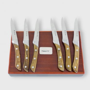 Set of 6 steak knives