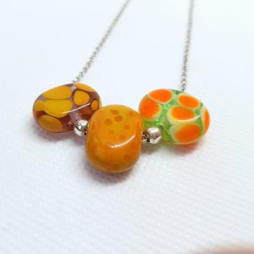 Necklace galets