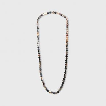 Necklace Ditwin (Perles 10mm mates)
