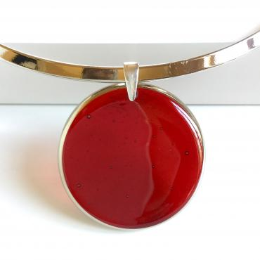 Necklace ASTRE red