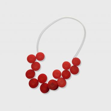 Collier Cabestan rouge