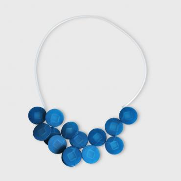 Necklace Cabestan blue