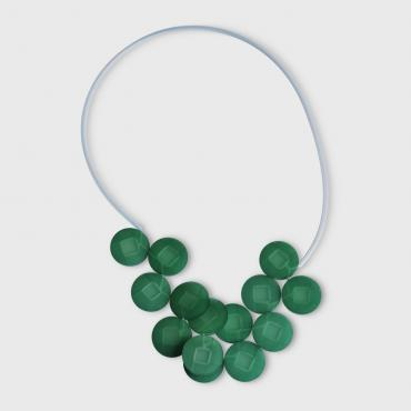 Necklace Cabestan green