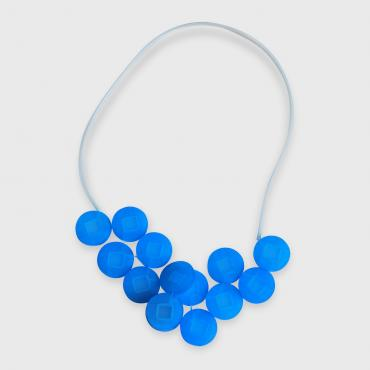 Necklace Cabestan turquoise blue