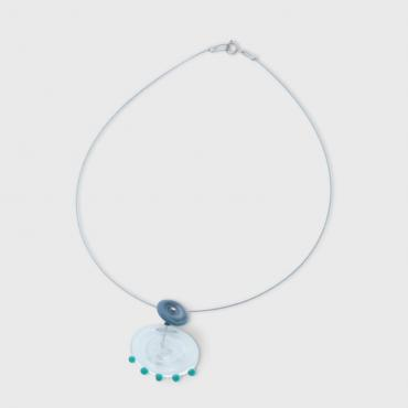 Collier Coco transparent