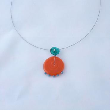 Necklace Coco Orange