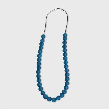 Necklace Blue colored