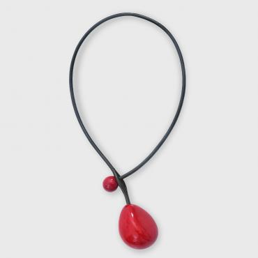 Collier Cerise rouge