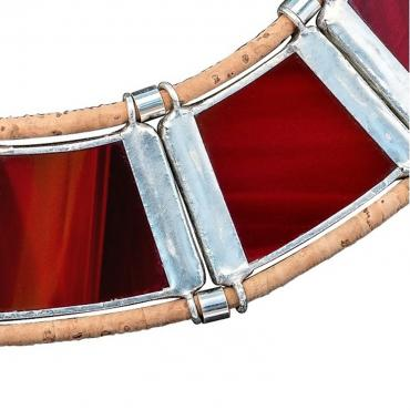 Collier DIVINA - coloris rouge carmin