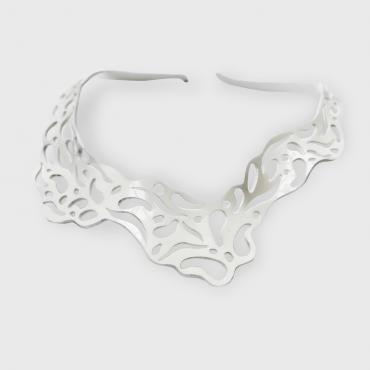 Necklace Ecume - White