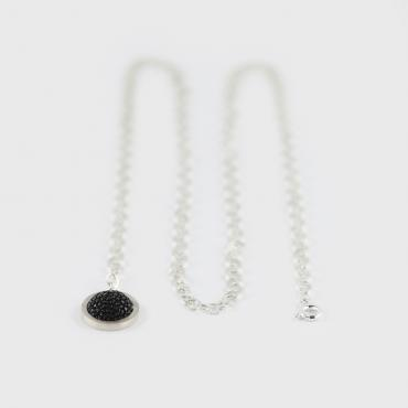 Necklace Shagreen Bubble