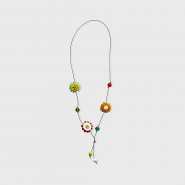 Collier Kids 3 fleurs Flashy