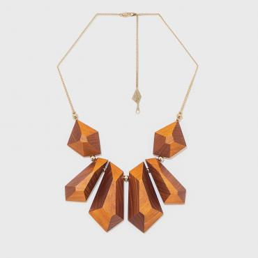 Collier Noumach orange