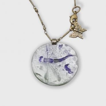 Necklace Dragonfly pendant
