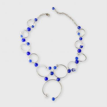 Necklace Rithm Blue