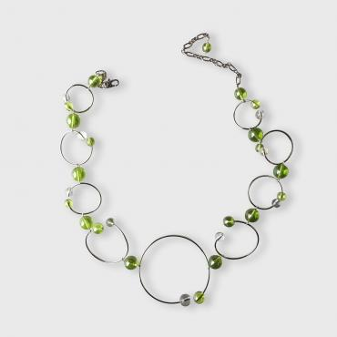 Necklace Rithm - Green