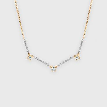 Collier Trois Diamants