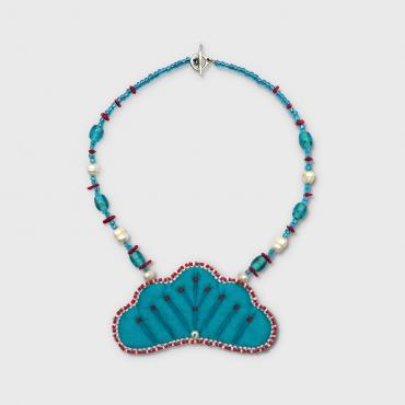 Necklace collection VALÉRIANE turquoise