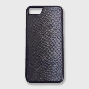 Iphone Xs Max case in fish leather