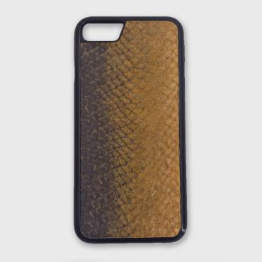 Iphone case 7Plus/8Plus in fish leather