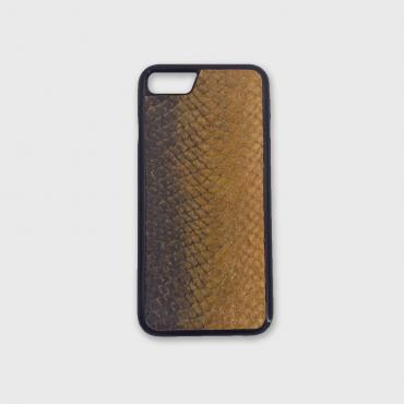 Iphone case 7/8 in fish leather