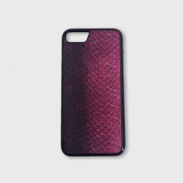 Coque Iphone X/Xs en cuir de poisson