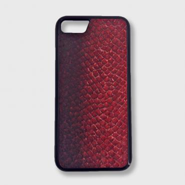 Coque Iphone Xs Max en cuir de poisson