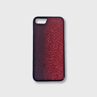 Iphone X/Xs case in fish leather