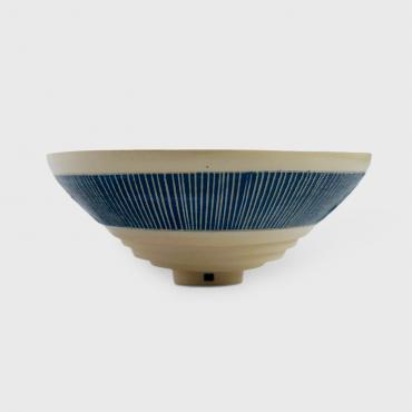 Bowl Sgraffitte Collection Bleu Cobalt