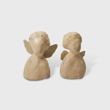Sculptures papier Couple d'ange