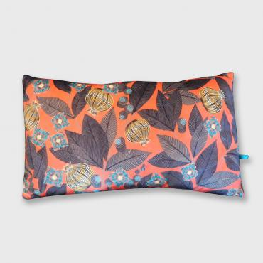 Coussin paradis rouge