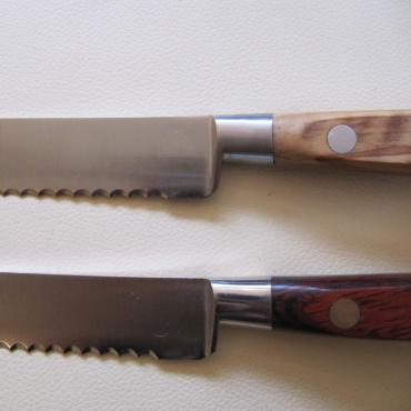 Bread Knife 20 cm in birch wood