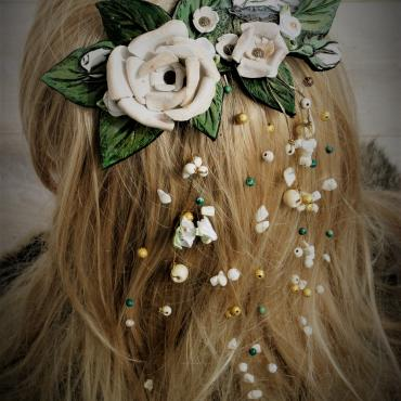Headdress Wedding comb Parnassius