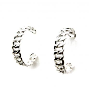 Hoop earrings Titanium
