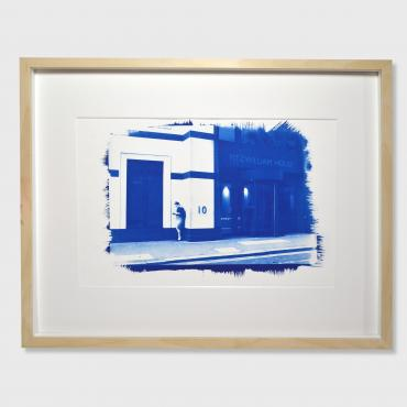 Cyanotype, La City, Londres, 2016 (n°2/30)