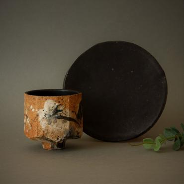 Bowl yunomi - Moon - Collection Iwa