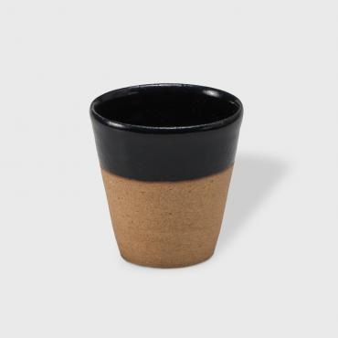 Coffee cup Sarlat black