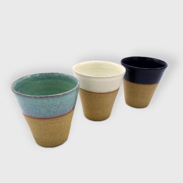 Set of 3 Coffee cups Sarlat