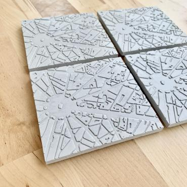 Set of 4 Coasters ÉTOILE