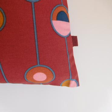 Coussin ramage