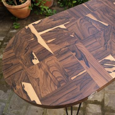Table Patchwork Ziricote Console or coffee table
