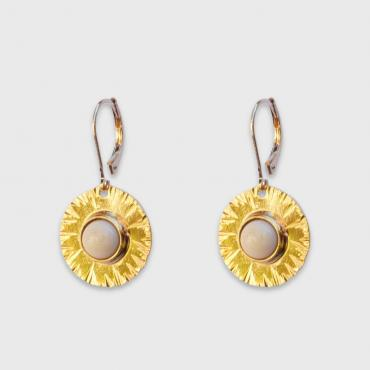 Earrings Sequana ivoiry