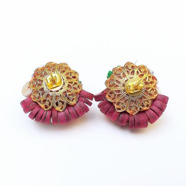 Earrings Ameno brown