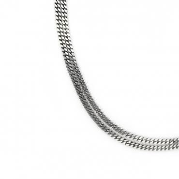 Collier full double Titanium