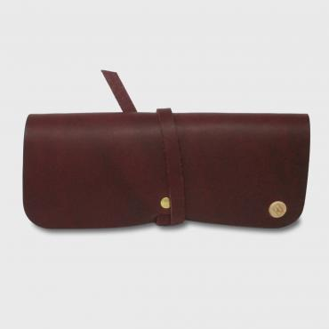 Glasses case, plum
