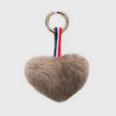 French Petit Coeur - Gris