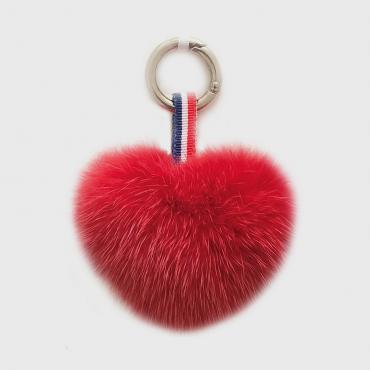 French Petit Coeur - Rouge