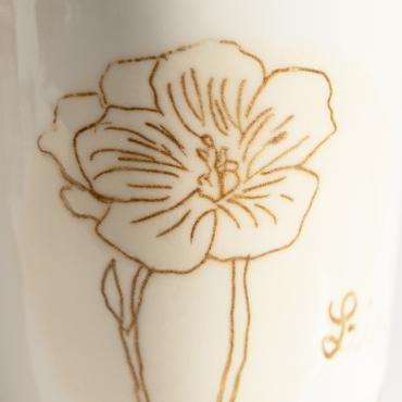 Cup Lin in porcelain