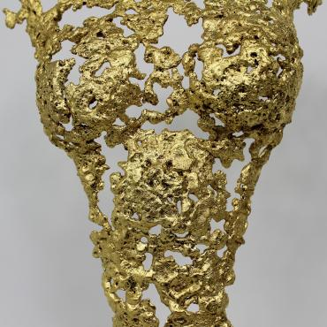 Sculpture Gold Pavarti La Guêpe