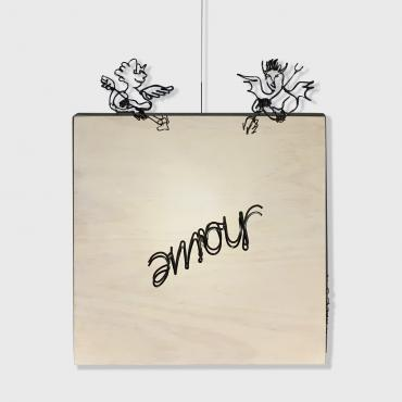 Amour / Haine, kinetic decoration